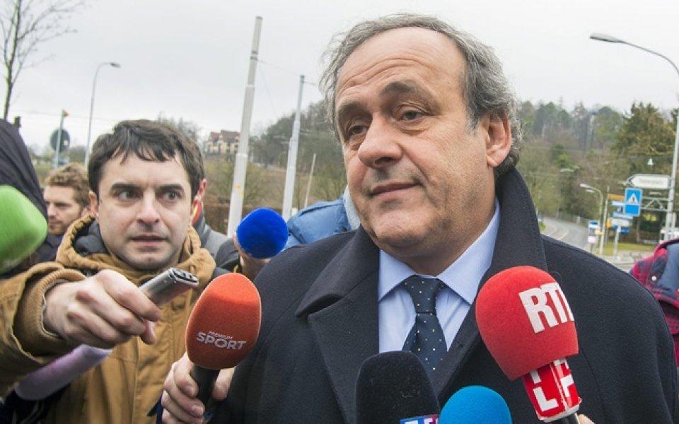 Адвокатите на Мишел Платини заявиха, че бившият президент на УЕФА