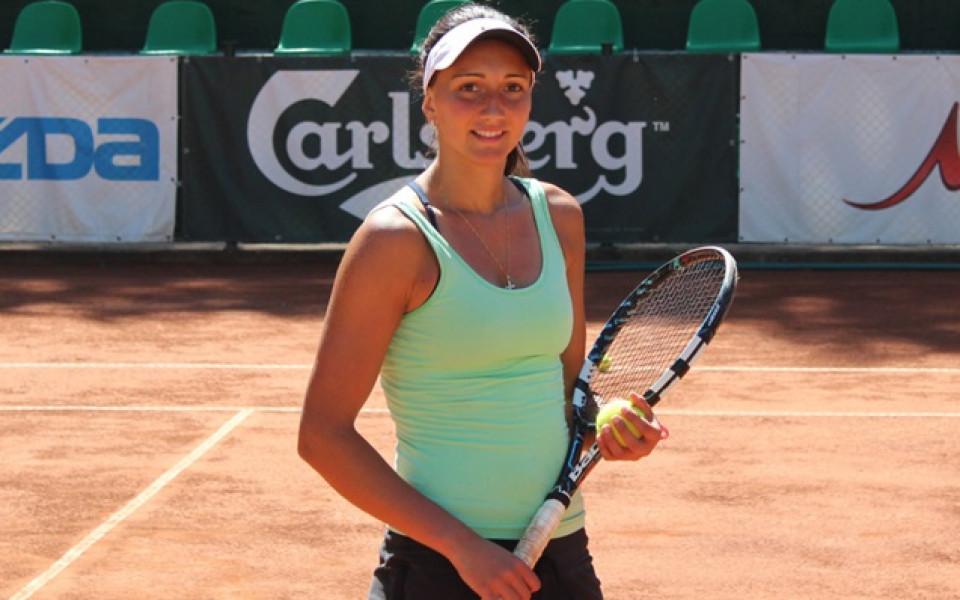 Александрина Найденова отпадна в първия кръг в Индия