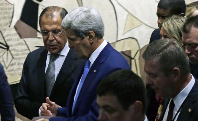 Лавров и Кери се разбраха за Сирия по телефона