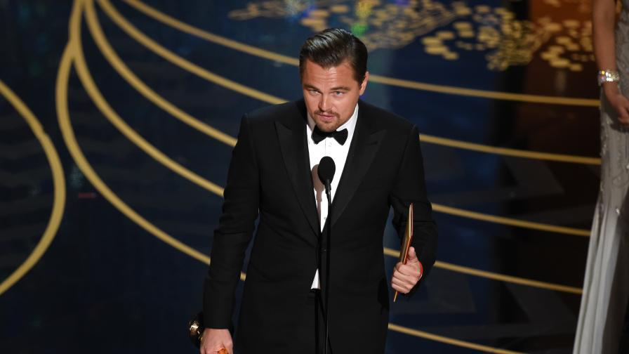 "Ди Каприо най-сетне получи ""Оскар"""