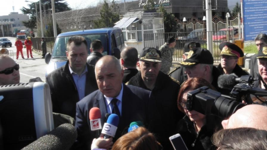 Борисов: Доволен съм от проведеното учение