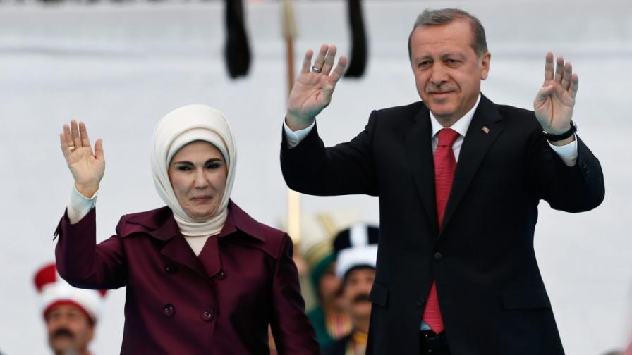 Емине и Реджеп Ердоган