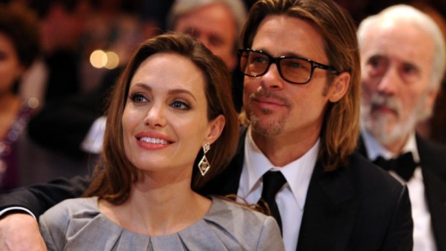 Брад Пит и Анджелина Джоли заживяха в Англия