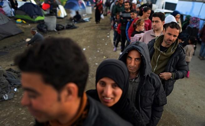 Хепатит плъзна в мигрантския лагер край Идомени