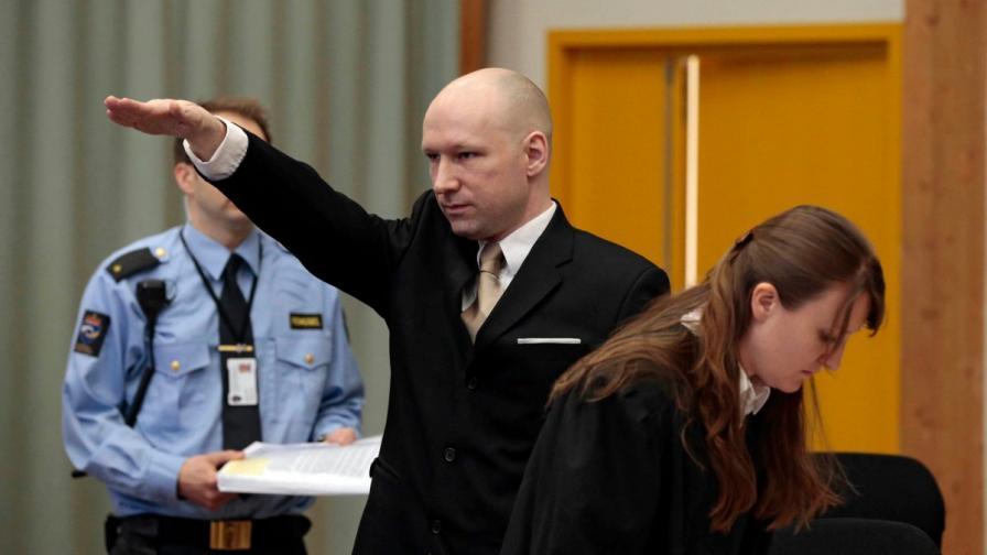 Масов убиец съди Норвегия за нехуманно отношение