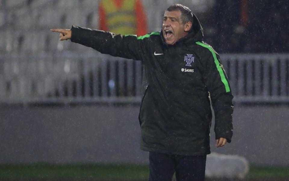 Фернандо Сантош: Очакваме България да играе по-затворено