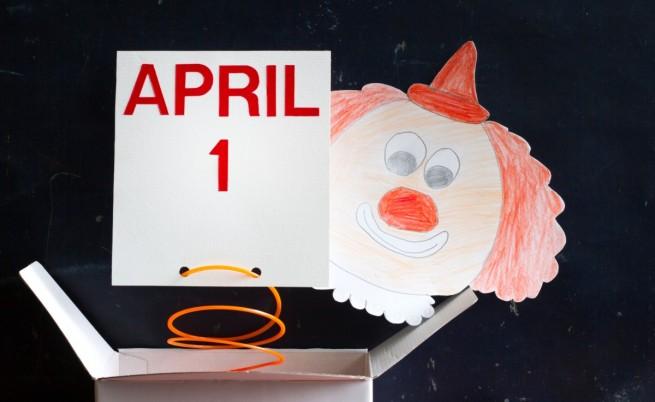 Първи април – ден на шегата