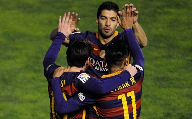 До края на миналия сезон Барселона разполагаше с най-опасното атакуващо