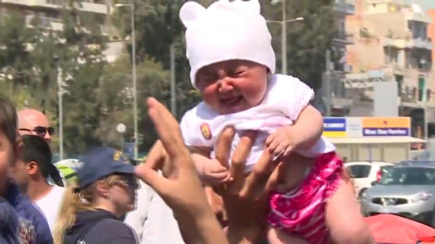 Имигрантите изкараха децата, за да не се върнат в Турция
