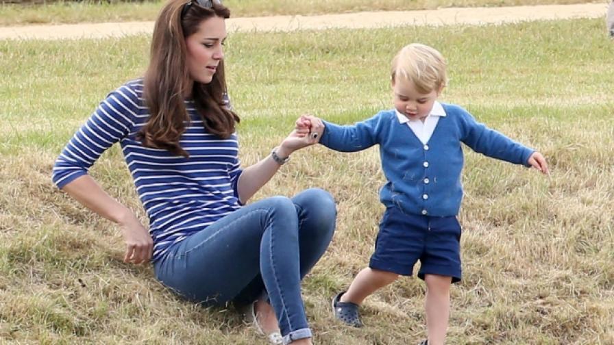 Кейт и принц Джордж отново в центъра на вниманието