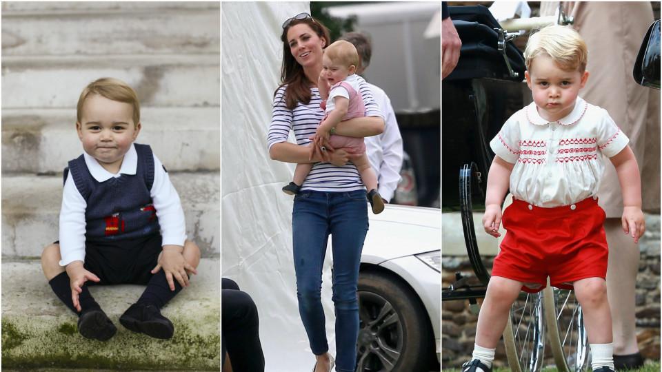 Миличкият принц Джордж не пътува, защото е буен.