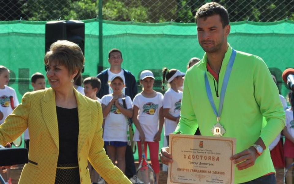Григор е почетен гражданин на Хасково, разплака се по време на церемонията