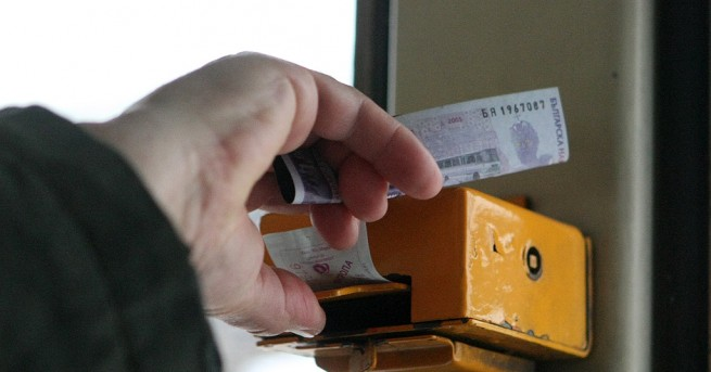 Забрана за купуване на билети в градския транспорт в София