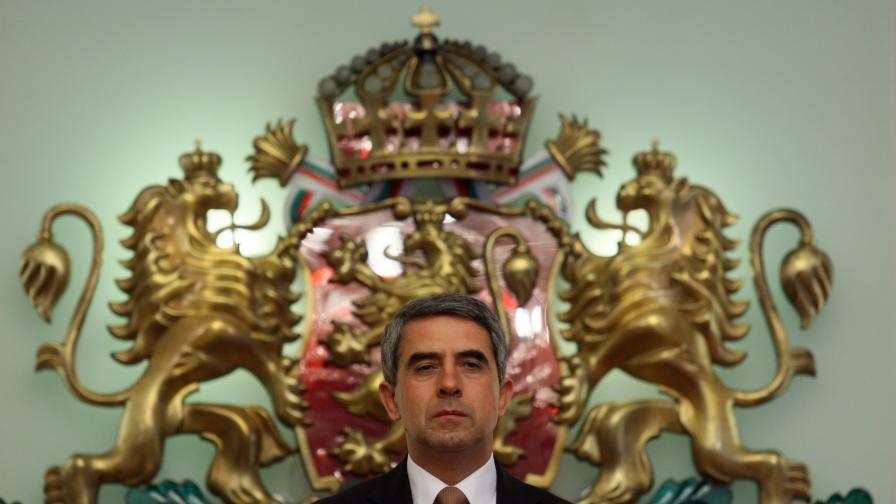 Президентът за третия мандат: Логично е да е за РБ