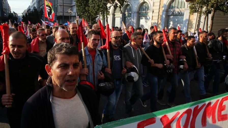 Тежка нощ в Атина, българи в капана на гръцката стачка