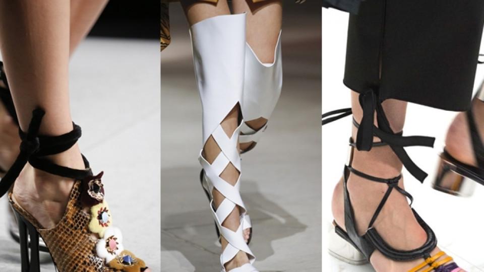 Какви са най-актуалните сандали за сезона?