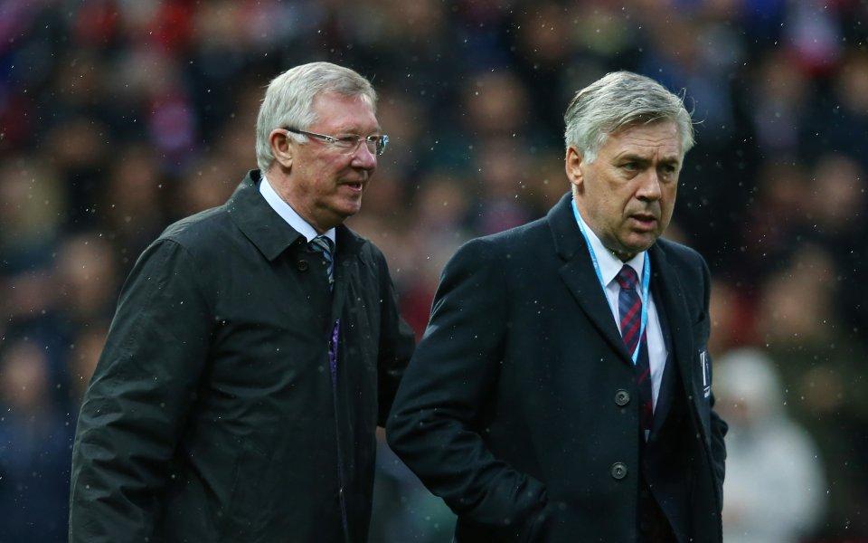 Анчелоти: Заради Реал отказах на Фъргюсън и Юнайтед