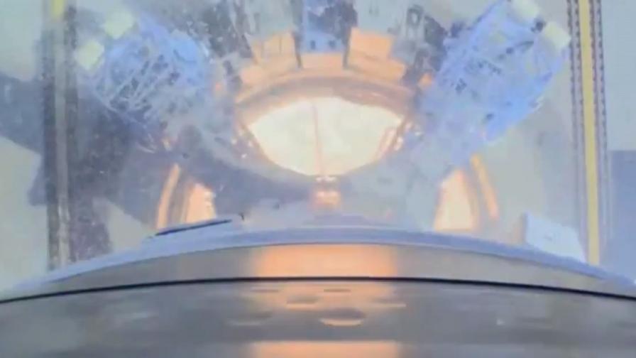 Уникални кадри от новия космодрум на Русия
