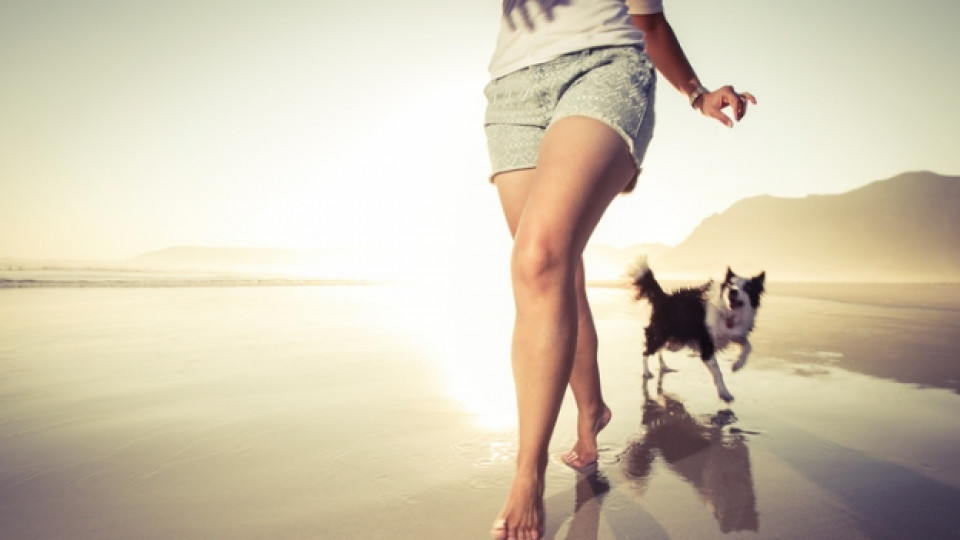 Сваляйте по-често обувките, за да усетите допира със земята