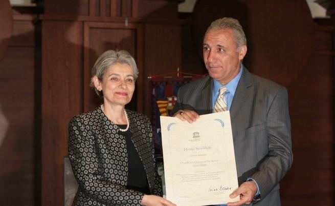 Бокова обяви Стоичков за посланик на ЮНЕСКО