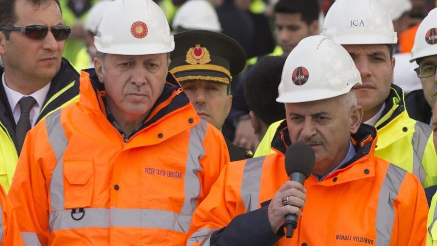 Новият турски премиер - верен на Ердоган
