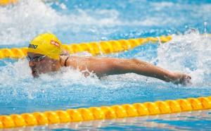 Шведка грабна златото на 100 метра бътерфлай на европейското