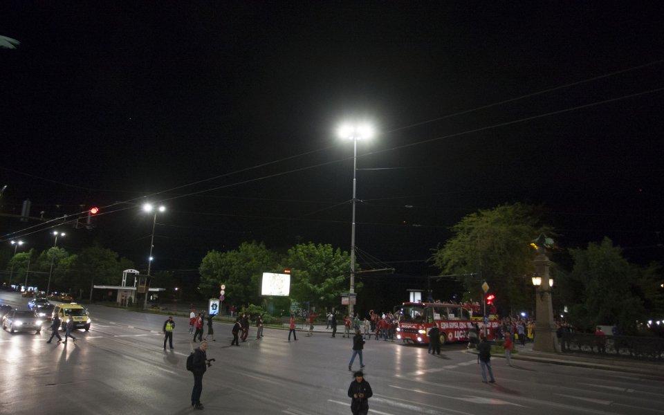 Стотици споделиха парада на ЦСКА в София