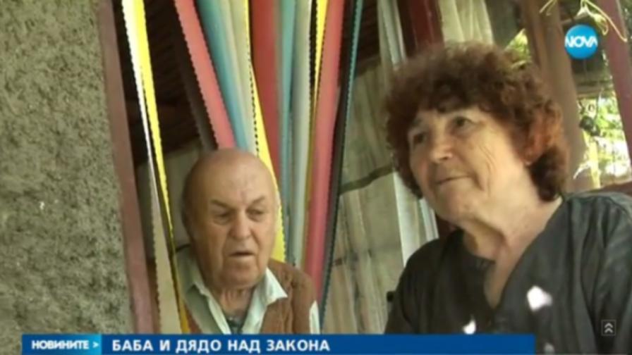 Хванаха баба и дядо да крадат алкохол, тя: За разтривки е