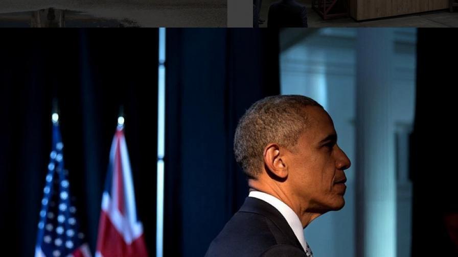 """Официалният фотограф на президента на САЩ - Барак Обама, Пит Соуза публикува поредица от снимки, за които твърди, че това е истинското лице на държавния глава на Щатите. """"Това са само част от ярките моменти, често и смешните мигове, които никога няма да бъдат забравени"""", казва Соуза."""