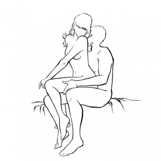 Ако се чувстваш секси –––> Ти изглеждаш удивително и се чувстваш невероятно секси, а той не може да ти се насити и да отдели поглед от теб. За да продължите това чувство, просто седни в неговия секси скут. Нека тойд а седне на ръба на леглото, а ти раздвижи дупето си. Един бонус от нас: ако го правите пред огледало, той ще може да те гледа и отпред, и отзад колко секси си всъщност. В тази поза много от ерогенните зони на мъжа са лесно достъпни, така че ти препоръчваме да пробваш съвсем скоро.
