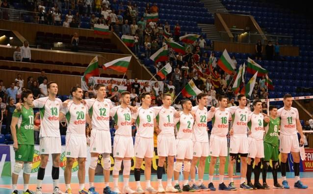 Национален отбор на България по волейбол източник: LAP.bg, Ивайло Борисов