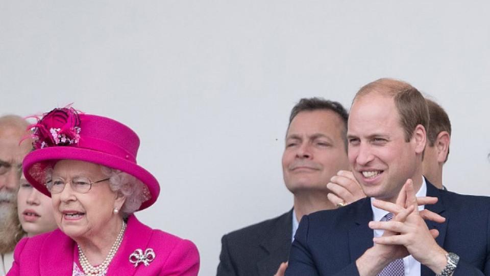 Защо кралица Елизабет се скара на принц Уилям?