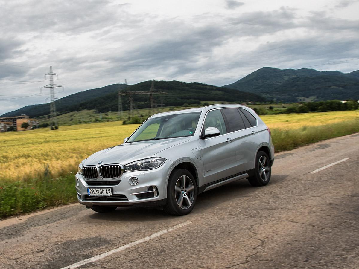 тестваме BMW X5 PHEV