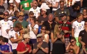 Феновете на Германия в Берлин останаха доволни от Бундестима