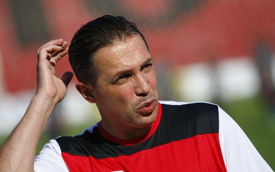 Снимка: Нов треньор в националния отбор на България