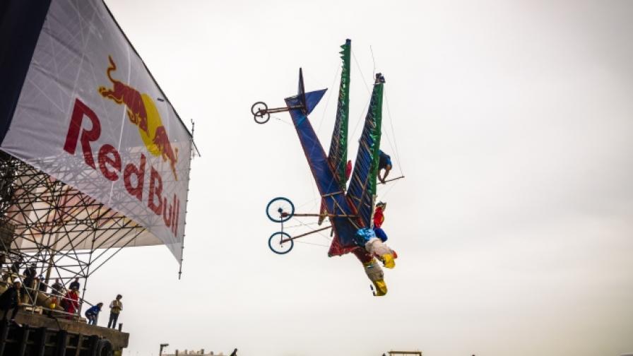 Зрелищното летателно шоу със самоделки у нас