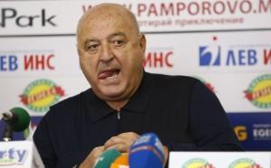 Венци Стефанов: Славия има пълно доверие на Загорчич