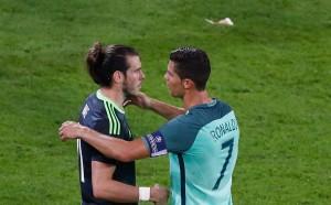 Роналдо за разговора с Бейл: Поздравих го, останалото ще запазя в тайна