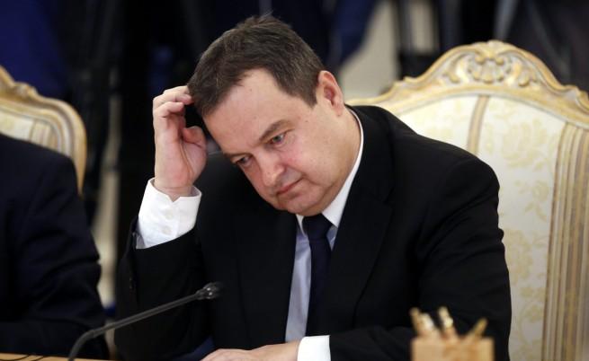 Сръбският външен министър предизвика скандал с България