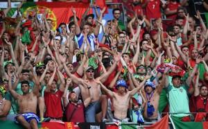 Сблъсъци между фенове на Португалия и Франция