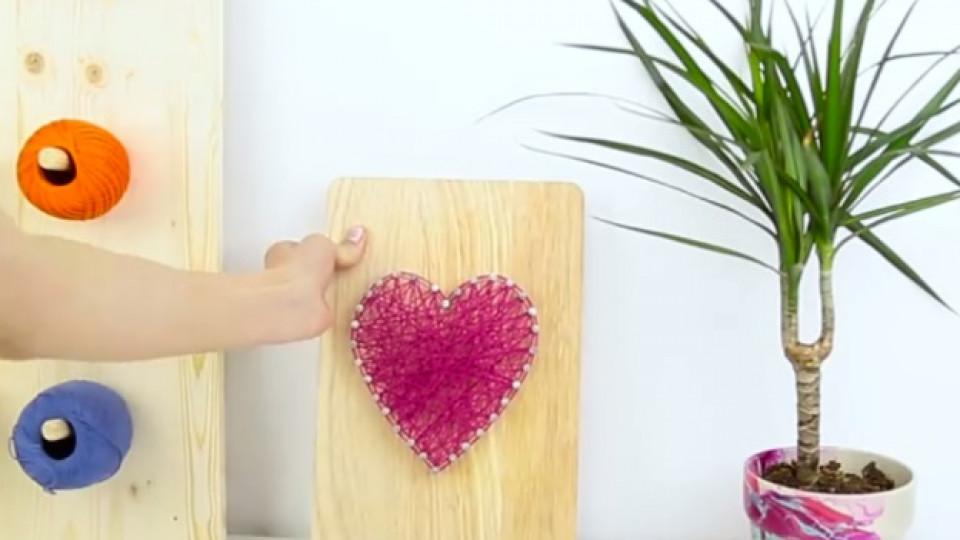 Как да си направим декорация за стаята от дъска за рязане