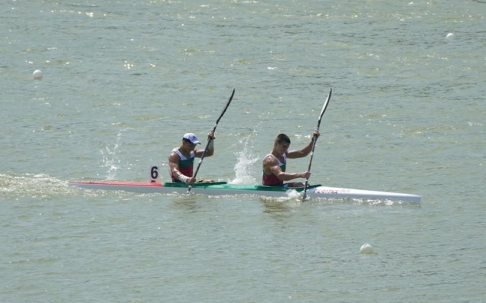 Три родни лодки на косъм от финалите на Европейското по кану-каяк