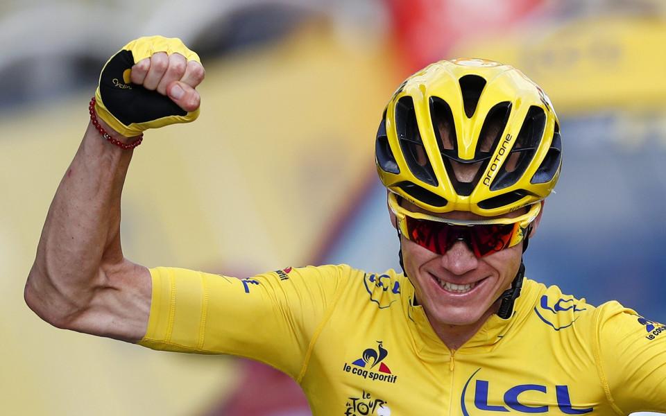 Крис Фруум си върна жълтата фланелка на Тур дьо Франс