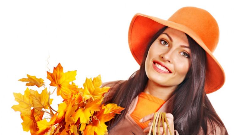 есен жена шапка листа