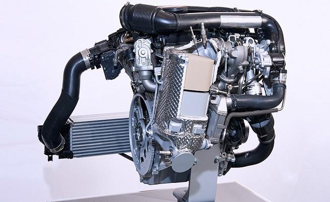 Това е новият 3-цилиндров дизелов двигател.