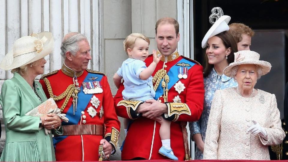 Как Кейт и Уилиям възпитават принц Джордж?