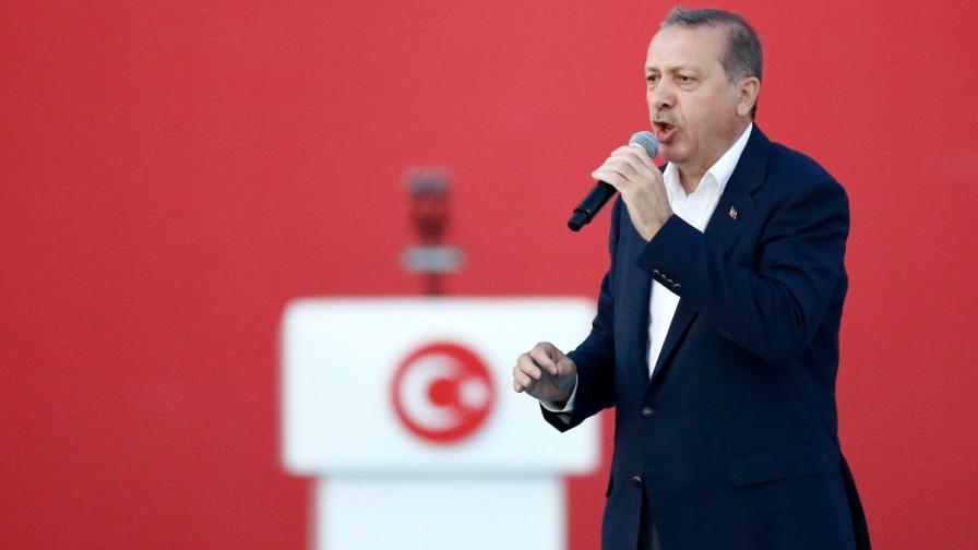 Ердоган: Извънредното положение продължава