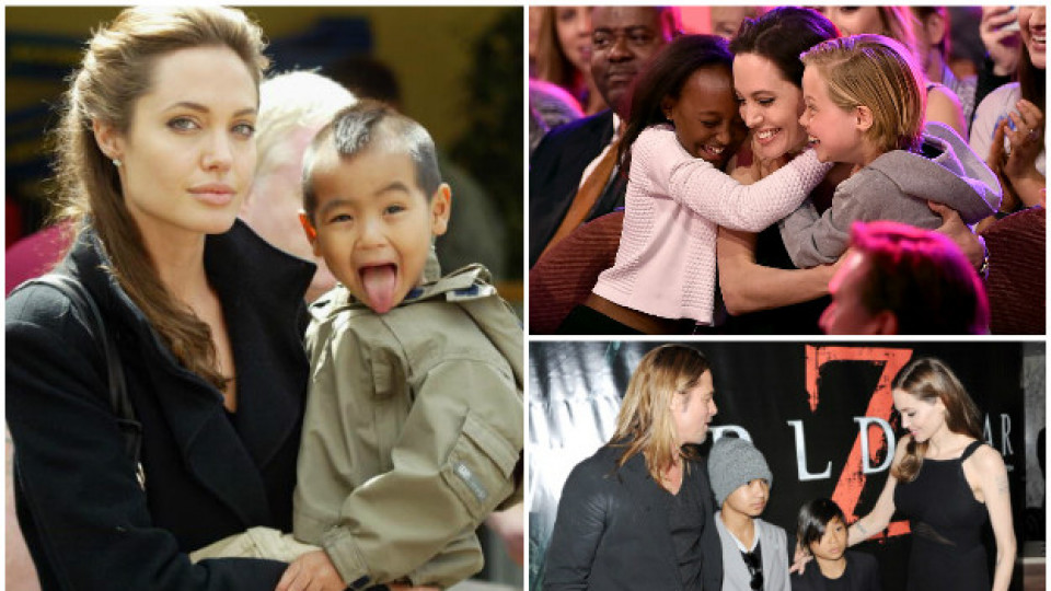 Любопитни факти за децата на Брад Пит и Анджелина Джоли