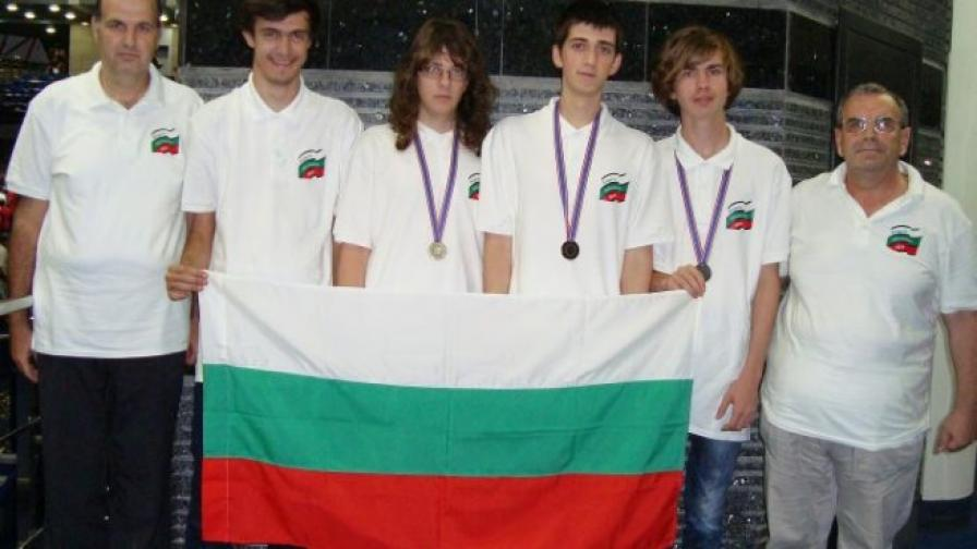 Български ученици завоюваха три медала в Русия