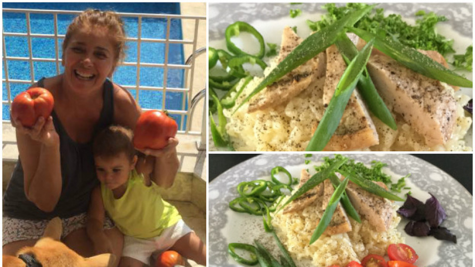 Днес Катето Евро готви ориз с месо по дядова рецепта